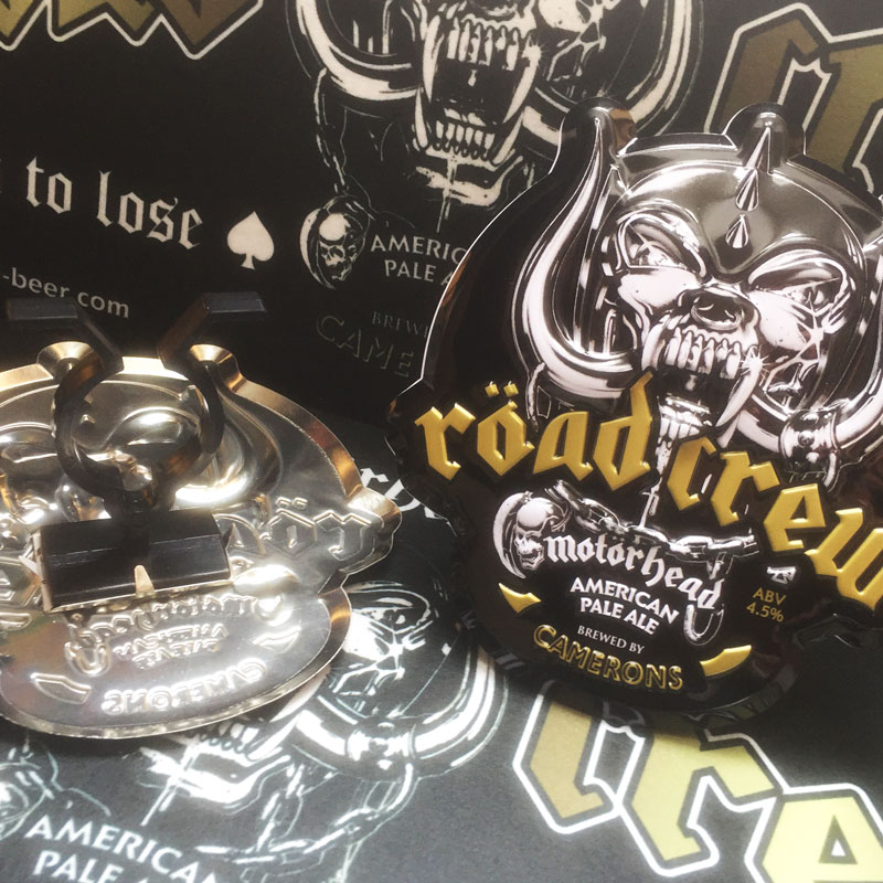 Motörhead Röad Crew Pump Clip