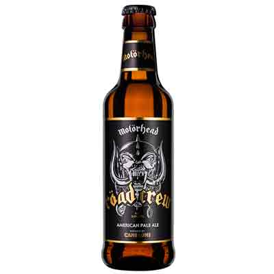 Motörhead Röad Crew Beer Bottle