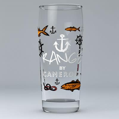 ANCHOR RANGE PINT GLASS