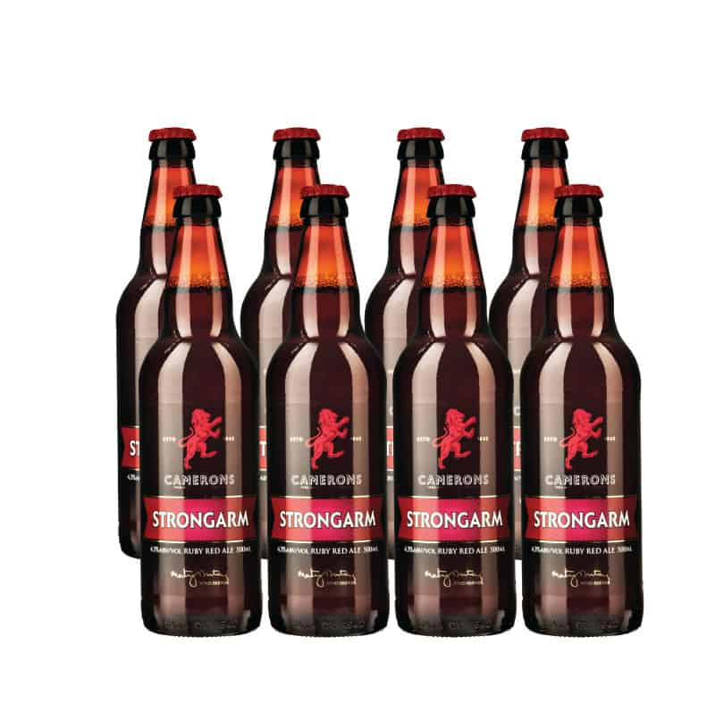 Strongarm 500ml Bottle 8 Pack 4.3%