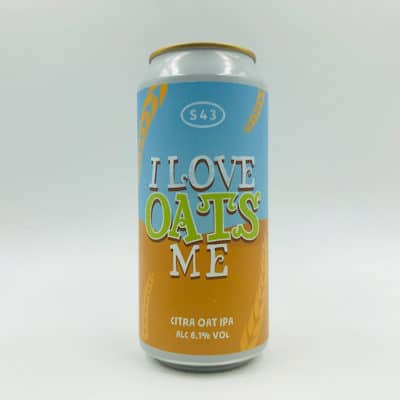 S43 I Love Oats Me 440ml Can