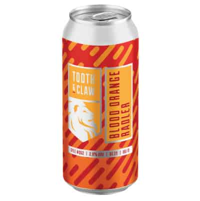 Tooth & Claw Blood Orange Radler Single Can