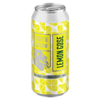 Tooth & Claw Lemon Gose Single Can