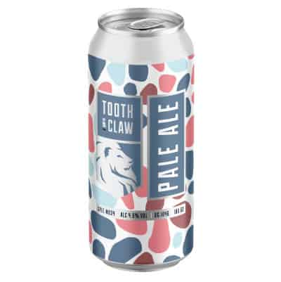 Tooth & Claw Pale Ale Single Can