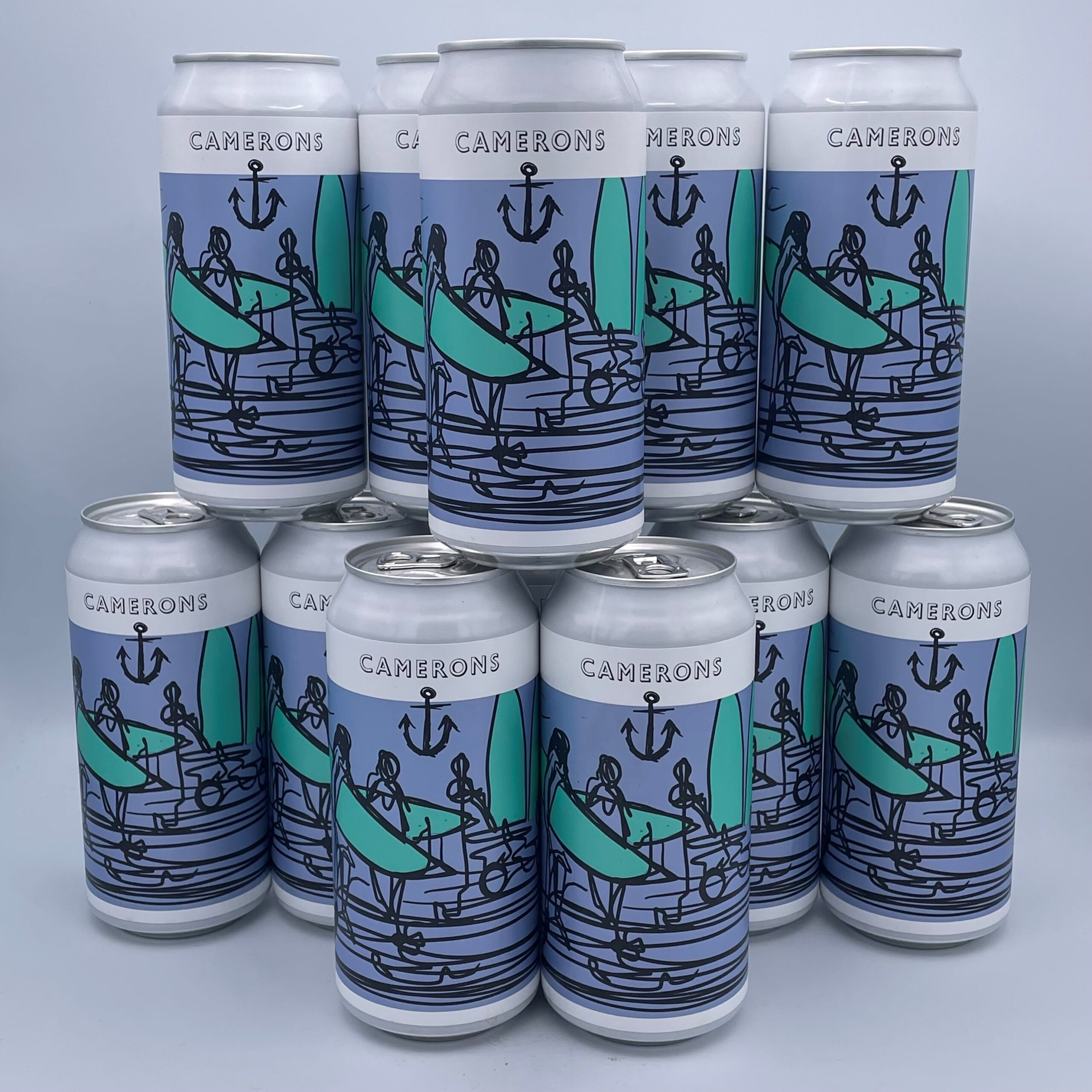 Surf Lager Can 12x440ml 4.0%