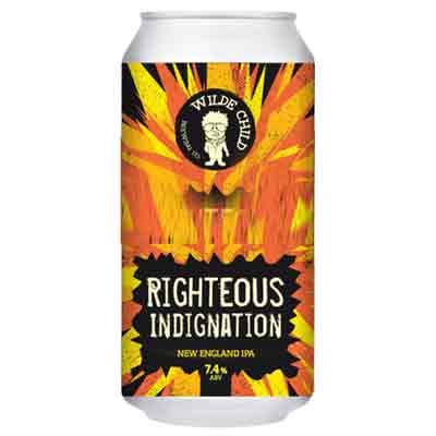 Wilde Child Righteous Indignation IPA