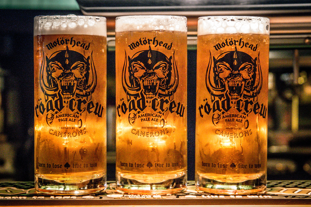 Motörhead Road Crew Pint Glass