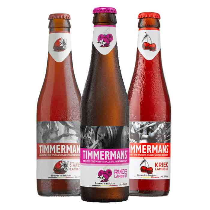 TIMMERMANS Triple Belgium Bottles