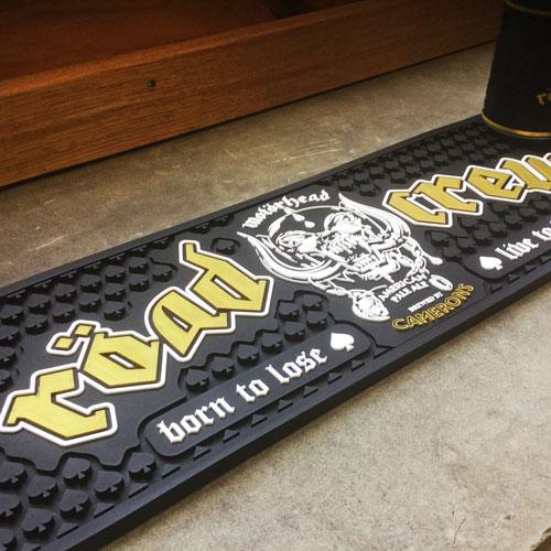 Motörhead Röad Crew Rubber Drip Mat