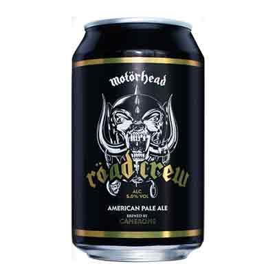 Motörhead Röad Crew Beer Can