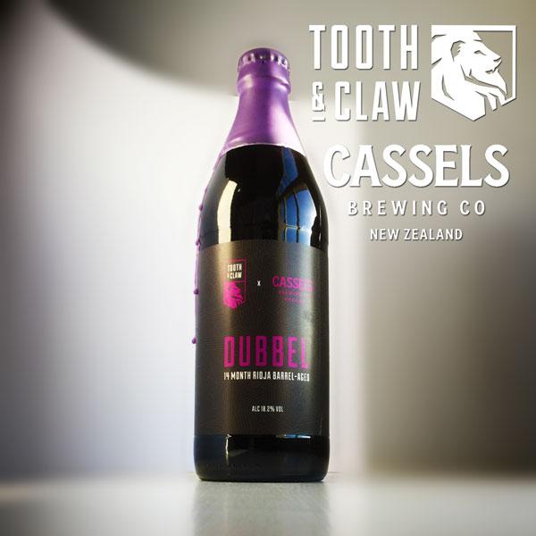Tooth & Claw X Cassels Rioja Barrel-Aged Dubbel