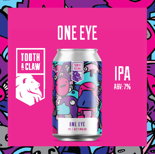 Tooth & Claw One Eye IPA 7%