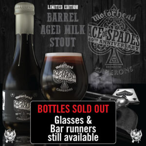 46008-CAMERONS-BREWERY-Motorhead-Ace-of-Spades-SOLD-OUT