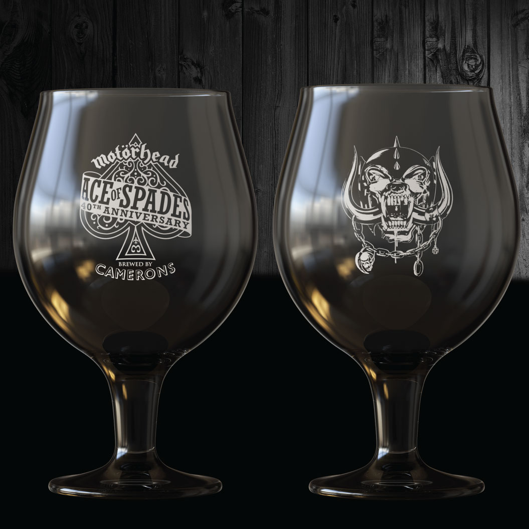 Motörhead Ace Of Spades Glass