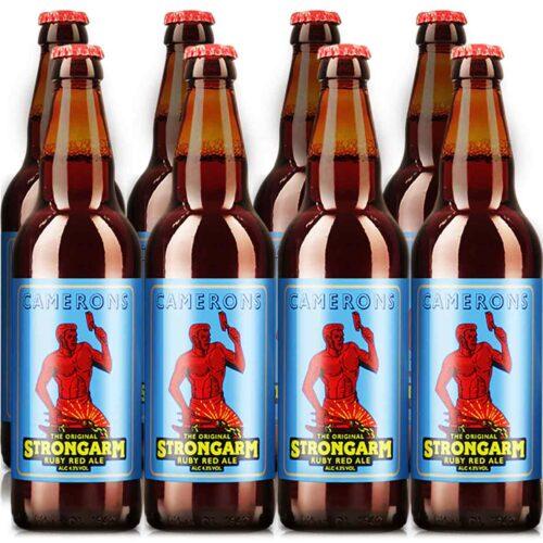 Strongarm 500ml Bottle 8 Pack 4.3%