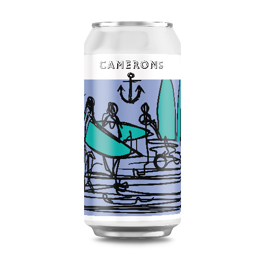 Surf Lager Can 440ml 4.0%